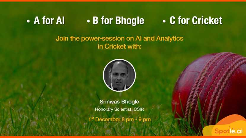 Don't Bet, Predict - Cricket Analytics with Dr Srinivas Bhogle