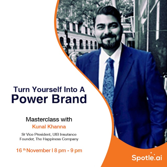 The Personal Branding Masterclass With Kunal Khanna