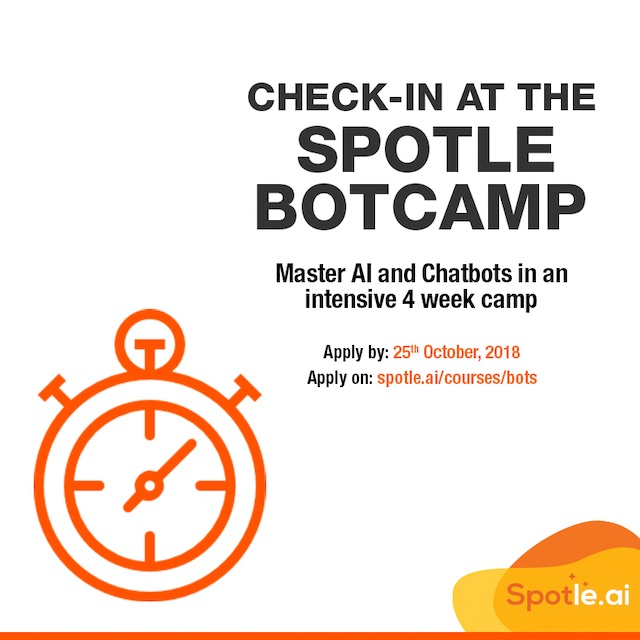 The Spotle Intensive Botcamp