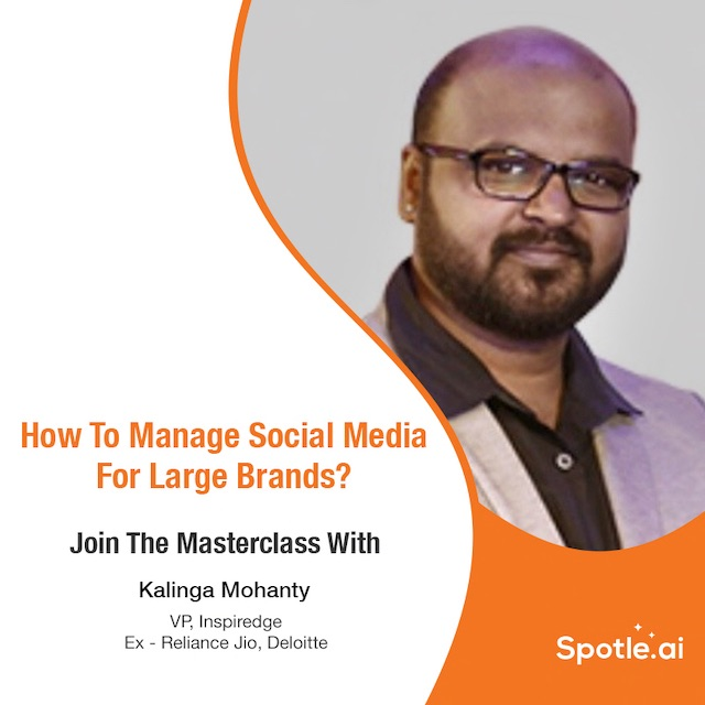 Masterclass - Managing Social Media For Large Brands