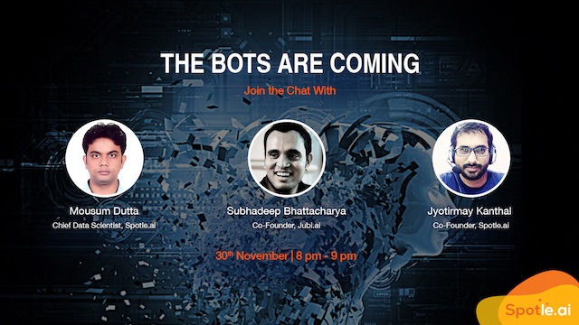 The Bots Are Coming - The Chatbots Power-Session