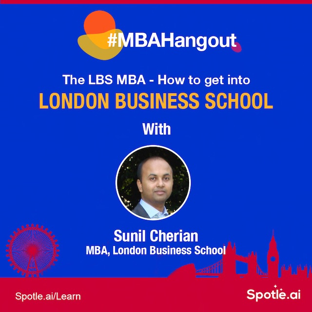 Information Session - The LBS MBA