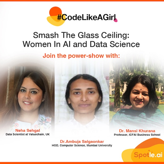 Smash The Glass Ceiling - Women In AI and Data Science