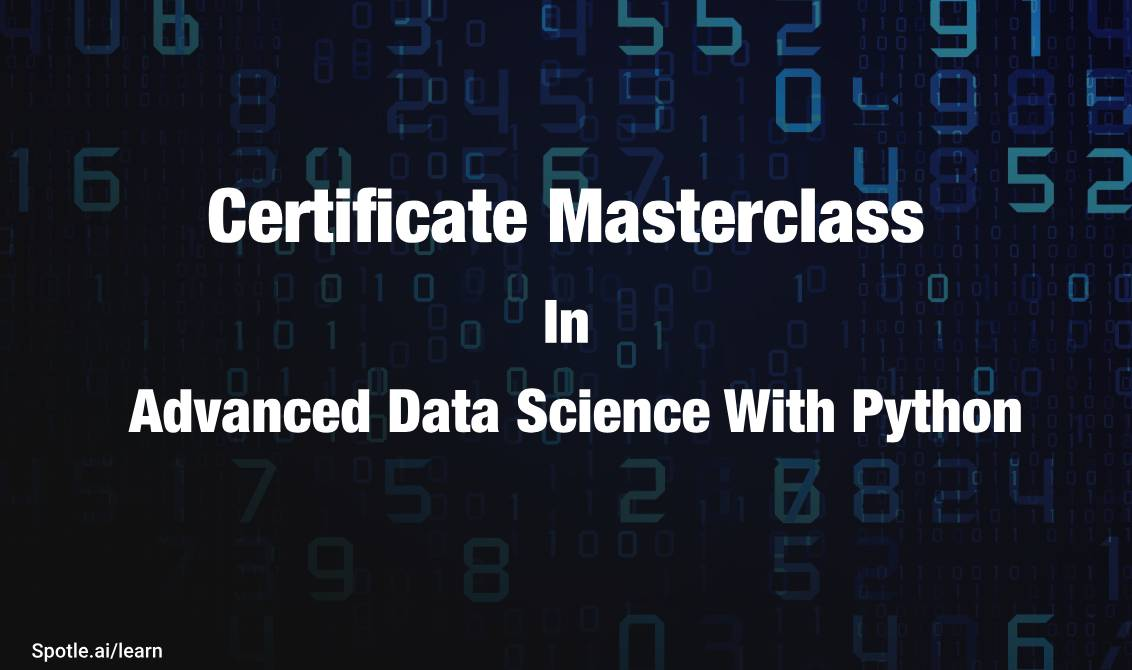Certificate Program In Data Science With Python