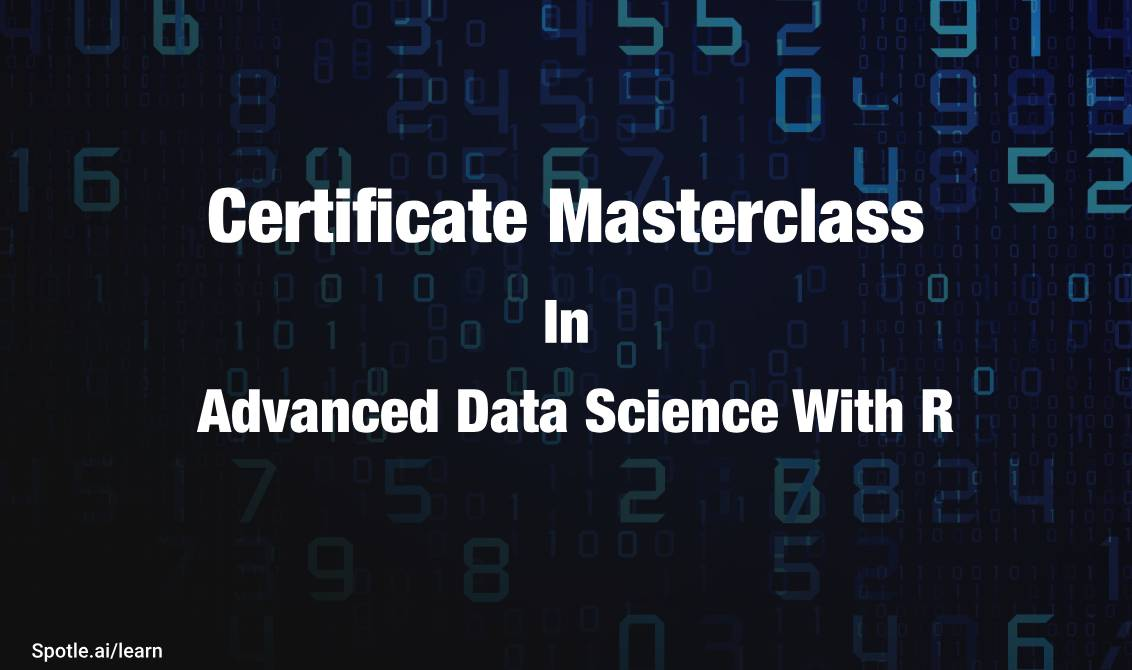 Certificate Program In Data Science With R